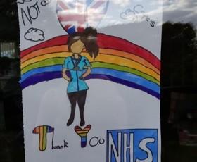 NHS poster